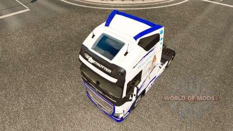 American Dream-skin für den Volvo truck für Euro Truck Simulator 2