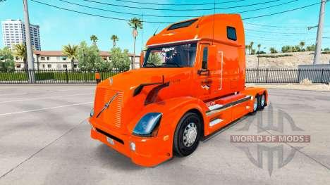 La peau Holland tracteur Volvo VNL 670 pour American Truck Simulator