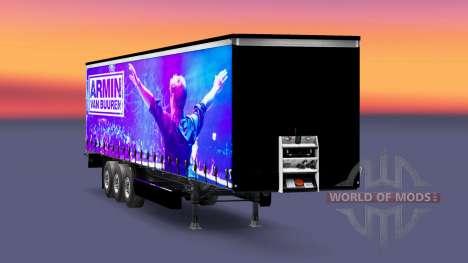 Haut-Armin van Buuren auf den trailer für Euro Truck Simulator 2