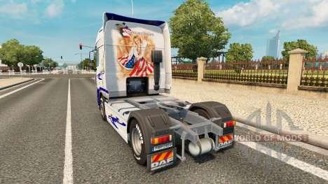 Le Rêve américain de la peau pour DAF camion pour Euro Truck Simulator 2