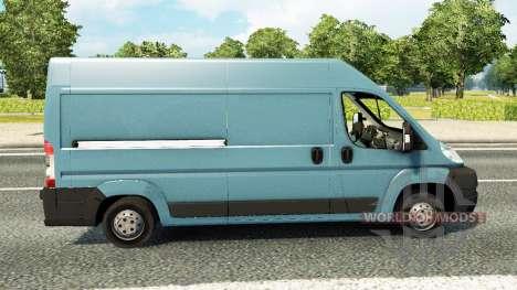 Peugeot Boxer pour le trafic pour Euro Truck Simulator 2