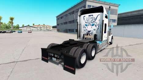 Haut Mastercraft Schränke auf der LKW-Kenworth W für American Truck Simulator