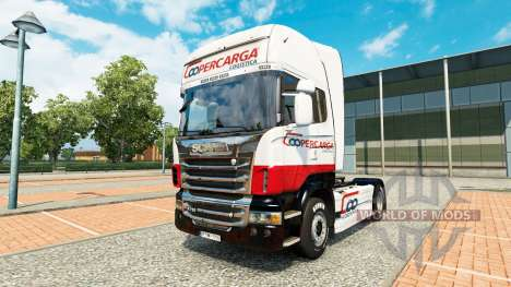 Coopercarga Logistica de la peau pour Scania cam pour Euro Truck Simulator 2
