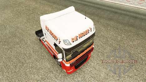 Die Nabers skin for DAF truck für Euro Truck Simulator 2