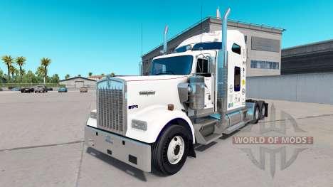 La peau Mastercraft Armoires sur le camion Kenwo pour American Truck Simulator