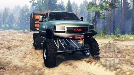 GMC Sierra 3500 2001 6x6 für Spin Tires