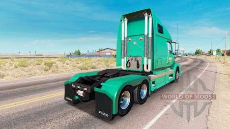 Abilene Express de la peau pour les camions Volv pour American Truck Simulator