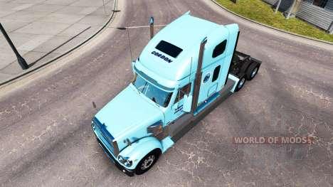 La peau de Gordon sur le camion Freightliner Cor pour American Truck Simulator