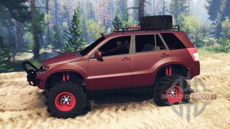 Suzuki Grand Vitara 2007 v2.0 pour Spin Tires
