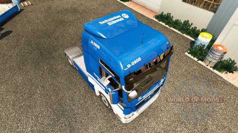 Haut THW Traktor MAN für Euro Truck Simulator 2