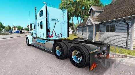 Haut-Gordon auf der truck-Freightliner Coronado für American Truck Simulator
