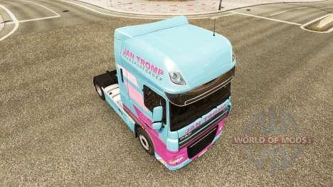 Jan Tromp de la peau pour tracteur DAF XF 105.51 pour Euro Truck Simulator 2