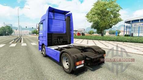 Skin Dachser Karlsruhe for tractor Mercedes-Benz für Euro Truck Simulator 2