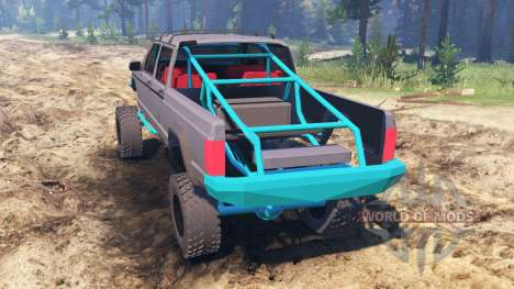 Jeep Grand Cherokee Comanche [pre-runner] pour Spin Tires