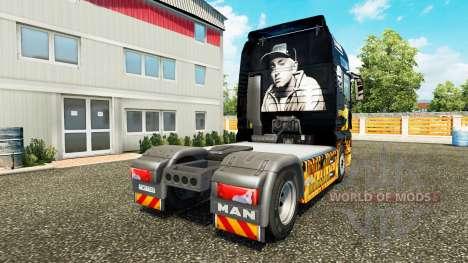 Eminem peau pour l'HOMME de camion pour Euro Truck Simulator 2