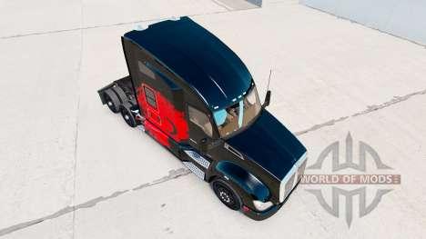 La peau turc Puissance tracteur Kenworth pour American Truck Simulator