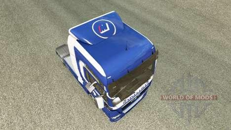 Mainfreight de la peau pour l'HOMME de camion pour Euro Truck Simulator 2