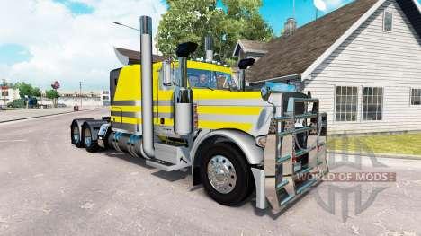 Скин Argenté jaune métallique на Peterbilt 389 pour American Truck Simulator