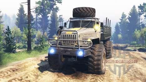 Ural-43206 [Hurrikan] v2.0 für Spin Tires
