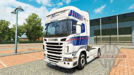 La peau M-Trex tracteur Scania pour Euro Truck Simulator 2