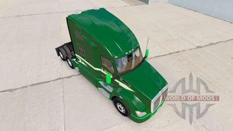 La peau se Déplacer Sur un tracteur Kenworth pour American Truck Simulator
