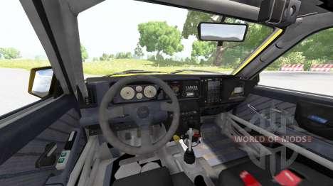Lancia Delta (831) HF Integrale Evo II für BeamNG Drive