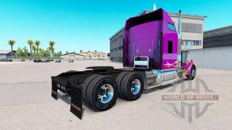 La peau de la Californie Flammes sur le camion K pour American Truck Simulator