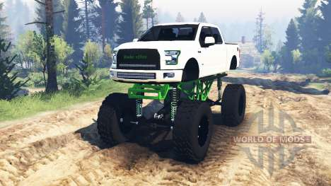 Ford F-150 [zombie edition] v2.0 für Spin Tires