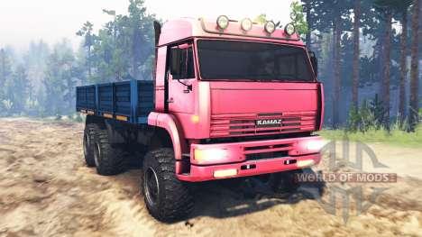KamAZ-65221 UdSSR für Spin Tires