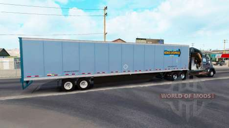 All-Metall-semi-trailer für American Truck Simulator