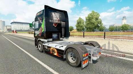 Implacable de la peau pour DAF camion pour Euro Truck Simulator 2
