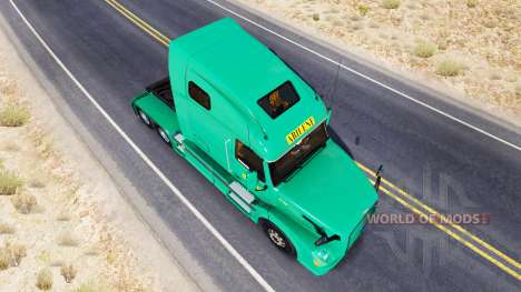 Abilene Express-skin für den Volvo truck VNL 670 für American Truck Simulator