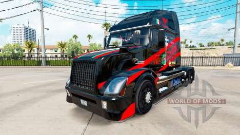 Castrol de la peau pour les camions Volvo VNL 67 pour American Truck Simulator