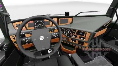 Darkline Int 233 Rieur Exclusif Pour Volvo Pour Euro Truck