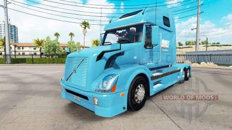 AMST de la peau pour les camions Volvo VNL 670 pour American Truck Simulator