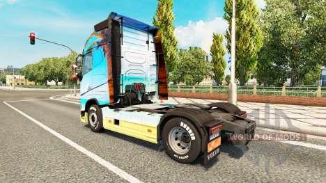 La Nature de la peau pour Volvo camion pour Euro Truck Simulator 2