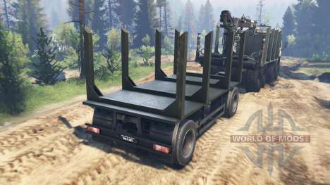 KamAZ-63501-996 Mustang v2.0 pour Spin Tires