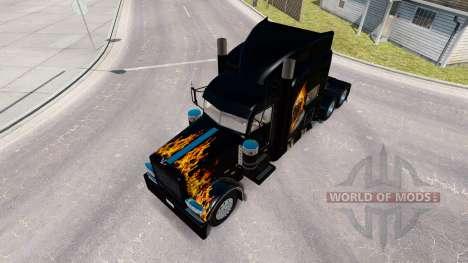 Ghost Rider la peau pour le camion Peterbilt 389 pour American Truck Simulator