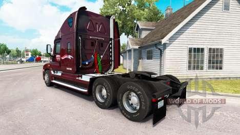 La peau Millis sur tracteur Freightliner Cascadi pour American Truck Simulator