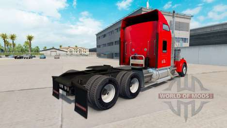 Скин Chevalier de Transport на Kenworth W900 pour American Truck Simulator