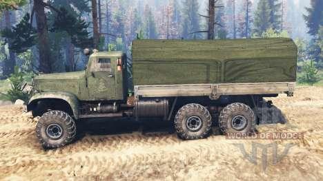 KrAZ-214 v2.0 pour Spin Tires