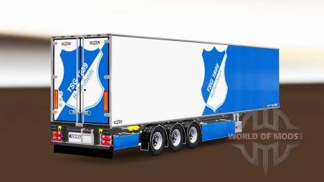 Semi-trailer Chereau TSG 1899 Hoffenheim für Euro Truck Simulator 2