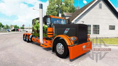 Snake skin v2.0 Zugmaschine Peterbilt 389 für American Truck Simulator