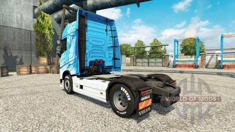 Klanatrans de la peau pour Volvo camion pour Euro Truck Simulator 2