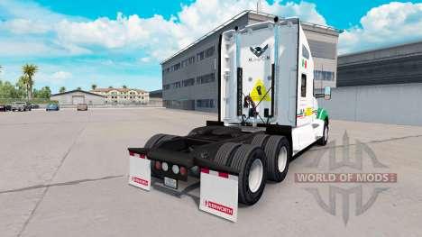 La peau Pemex sur un tracteur Kenworth pour American Truck Simulator