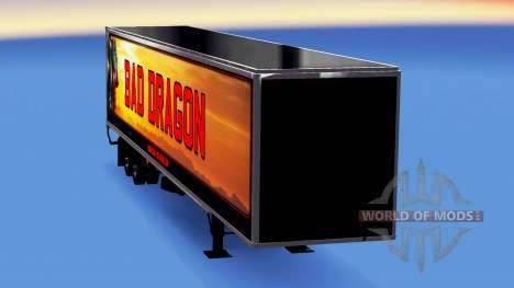 All-metal-halb-Bad Dragon für American Truck Simulator