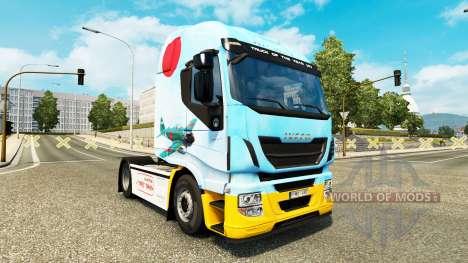 La peau Mitsubishi A6M2 Zéro dans le tracteur Iv pour Euro Truck Simulator 2