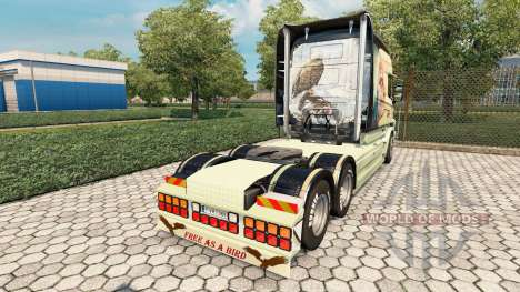 Scania T Longline [Free As A Bird] pour Euro Truck Simulator 2