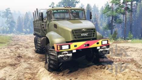 KRAZ-65032 für Spin Tires