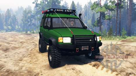 Land Rover Discovery v2.0 für Spin Tires